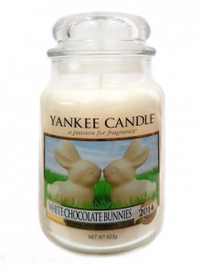 - Yankee Candle WHITE CHOCOLATE BUNNIES classic velký 623 g
