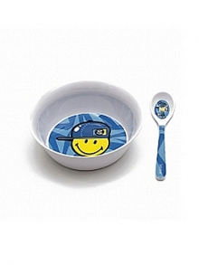 - Zak!designs 6705-2301 SMILEY KID snídaňový set modrý