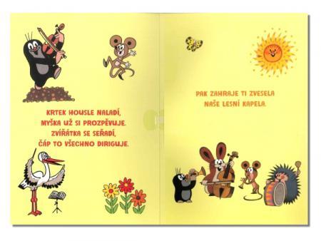 dětská přání k narozeninám texty Albi 82326 hrací přání K NAROZENINÁM Krteček s dortem  dětská přání k narozeninám texty